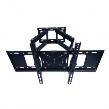 "Adjustable 32""-65"" Full Motion Double Arm Swivel Tilt TV Wall Mount Bracket"