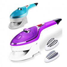 Portable Q Steam Iron 2 in 1 Steam and Rolling Landscape