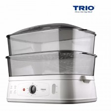 TRIO 2 Tier 10 Liter Jumbo Food Steamer
