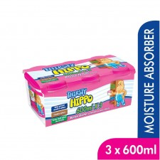 Thirsty Hippo Dehumidifier (600ml x 3) [Value Pack]