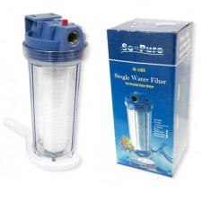 "SO-PURE 3/4"" Pressure Relief Normal Set Single Filter,Water Filter Housing"
