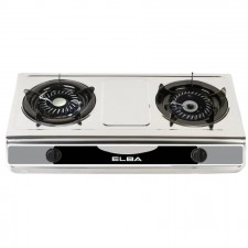 Elba Double Burner Cooker Gas Stove EGS-F7112 (SS)