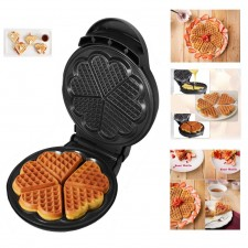 Classic Heart Shaped Waffle Maker with Temperature Control (KEA0144)
