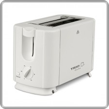 TRIO Pop-Up Toaster TTS-662 Rapid Bread Toast 2 Slices Easy Operate Roti Bakar