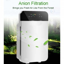 UV Air Purifier 6 Layer Filter HEPA Active Carbon Touch Panel