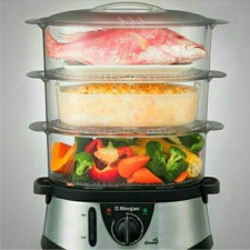 Morgan Stainless Steel Food Steamer MFS-MB12L