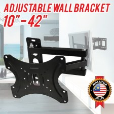 Adjustable Tilt Swivel TV Wall Mount/Bracket/Plasma/LCD/LED/Flat/Panel