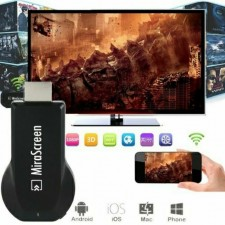 Full HD 1080P Wireless MiraScreen HDMI Dongle Receiver 2.4G Media TV