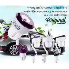 Nanum 3 in 1 Car Humidifier/ Aromatherapy/ Dual USB Charger