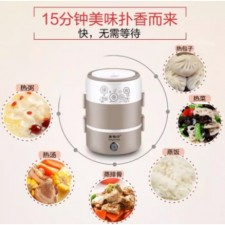 3 Layers Mini Rice Cooker Mini Steamer Multi Cooker
