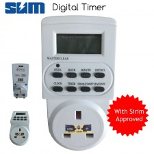 Digital Timer Socket Plug with LCD Display (SIRIM APPROVED)