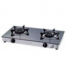 Morgan Gas Stove MGS-8312G (7600W) 12cm Black Brass Burner Head