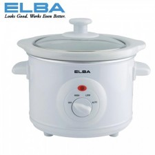 Elba ESC-D1539(WH) Slow Cooker 1.5L (White)