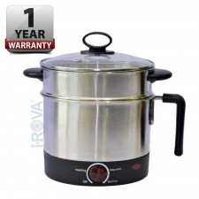 Stainless Steel Multi Purpose Food Steamer / Noodles Bowl Cooker Pot 1.5L