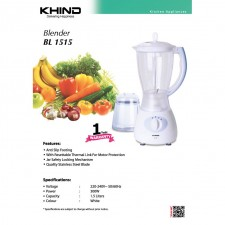 Khind Electric Blender 1.5L BL1515