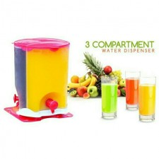 3 in 1 Compartment Water Dispenser