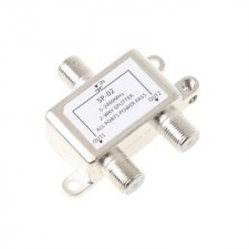 2 Way 5-2050 MHz 1 to 2 Coaxial Splitter for RG6