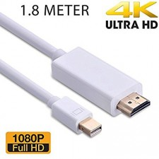 Mac Mini Display Male Port Thunderbolt to HDMI Adapter Cable For Apple
