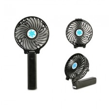 Portable Rechargeable 2 in 1 Handheld & Standing Strong Wind Mini Fan