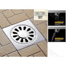 """Stainless Steel 4""""(100mm) Floor Grating Drain With Center Hole(GD8393H)"""
