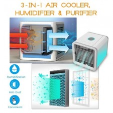Arctic Air Personal Space Cooler Air Conditioner 3 Speed Air Cooler Fan