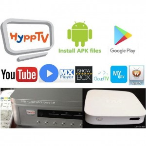 TM Hypptv Box STB EC6108v8 With Playstore Youtube Android Box Refurbish