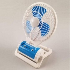 MINI PORTABLE FAN 2IN1 WITH LED LIGHT
