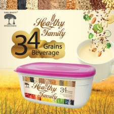 FAIRY BEAUTY HEALTHY FAMILY/34 GRAINS BEVERAGE/IMPROVE BONE & JOINT HEALTH (1000G PER CONTAINER)