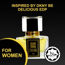 INSPIRED BY DKNY BE DELICIOUS 30ML EDP FOR WOMEN JAKIM CERTIFIED HALAL PERFUME
