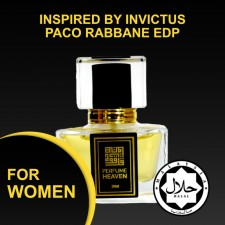 INSPIRED BY INVICTUS PACO RABBANE 30ML EDP FOR MEN JAKIM CERTIFIED HALAL PERFUME