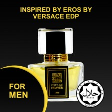 INSPIRED BY EROS BY VERSACE 30ML EDP FOR MEN JAKIM CERTIFIED HALAL PERFUME