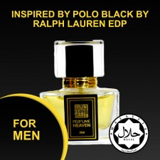 INSPIRED BY POLO BLACK BY RALPH LAUREN 30ML EDP FOR MEN JAKIM CERTIFIED HALAL PERFUME