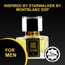 INSPIRED BY STARWALKER BY MONTBLANC 30ML EDP FOR MEN JAKIM CERTIFIED HALAL PERFUME