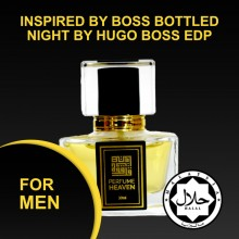INSPIRED BY BOSS BOTTLED NIGHT BY HUGO BOSS 30ML EDP FOR MEN JAKIM CERTIFIED HALAL PERFUME