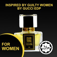 INSPIRED BY GUILTY WOMEN BY GUCCI 30ML EDP FOR WOMEN JAKIM CERTIFIED HALAL PERFUME