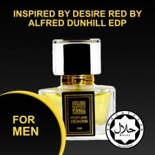 INSPIRED BY DESIRE RED BY ALFRED DUNHILL 30ML EDP FOR MEN JAKIM CERTIFIED HALAL PERFUME
