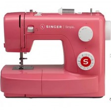 SINGER 3223R Colored Simple 23-Stitch Essential Sewing Machine (RED)