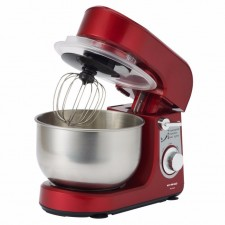 Khind 5 Speed SM350P Stand Power Mixer 3.5L (Red)
