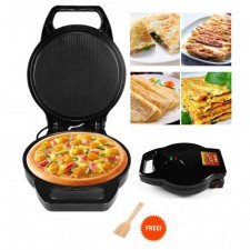 Electric Pizza Maker Omelette Baking Pan Kitchen Cooker Non-Stick