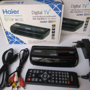 Set Decoder Haier + Antenna Outdoor + Cable