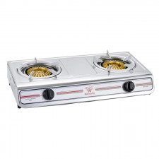 Butterfly Double Gas Cooker Stainless Steel (BGC-933)