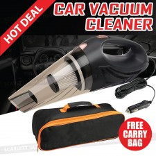 Car Vacuum Cleaner Wet Dry DC12V Portable Handheld High Power Suction
