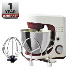 Heavy Duty Stand Mixer W/ 4.2L Stainless Steel Bowl, Dough Hook, Whisk & Beater