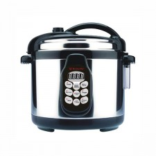 Butterfly Electronic Pressure Cooker Stainless Steel 6L BPC-5068