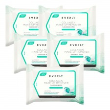 EVERLY Collagen Make-Up Remover Cleansing Wipes (20 Pcs X 5)