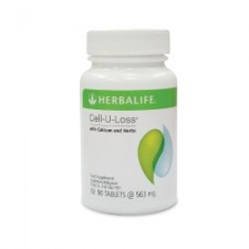 HERBALIFE Cell-U-Loss With Calcium And Herbs Tabs Indonesia (90'S)