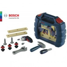 BOSCH Kid Tool Box Set Carrying Case Pretend DIY Play Role