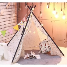Teepee Tent White Star (Large)
