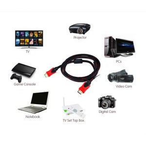 1.5M High Speed HDMI Cable V1.4 3D Full HD 1080P