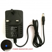 AC To DC 12V 2A UK 5.5mm X 2.5mm (2.1mm) Power Supply Adapter CCTV Router LED